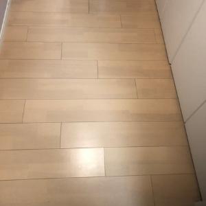 フロア清掃アフター